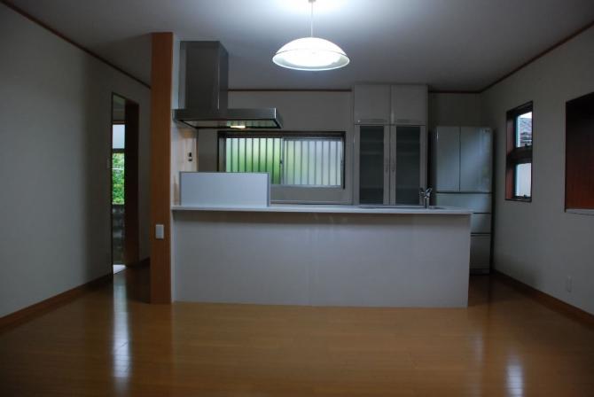 株式会社タケイ『N様邸 キッチンほか内装工事』
