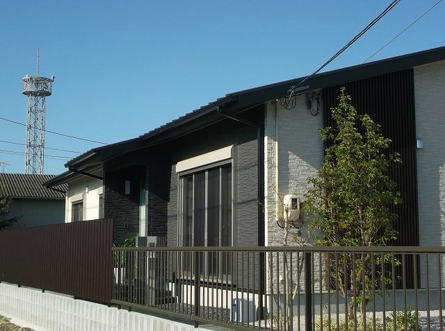 株式会社福光住建『大人の過ごす家(中庭のある平屋の住まい)』