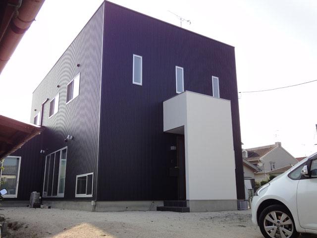 有限会社まきび住建『ハコ型が印象的なデザイナー'sハウス 』