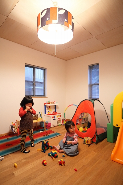 広々な子供部屋