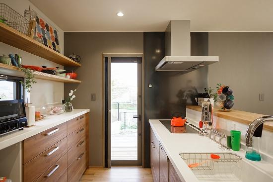 キッチンも広々。
