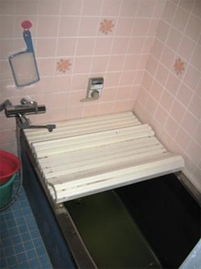 お風呂・洗面所 施工前
