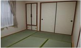 縁側をなくし以前より和室を広くしました。