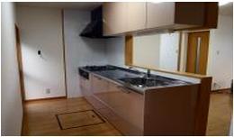 対面式システムキッチンに変えました。