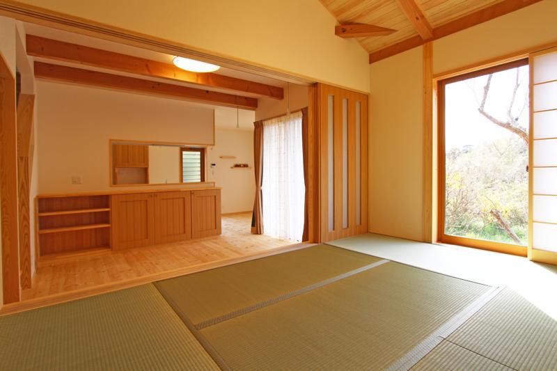 株式会社永見工務店『和室でくつろぐ家』