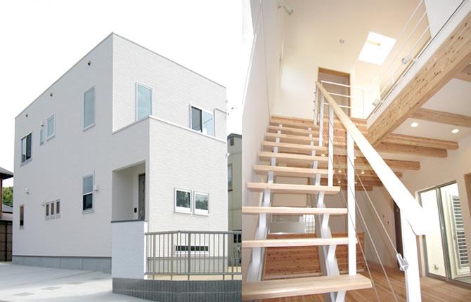 髙山産業株式会社『天窓から光を取り入れた明るい家』