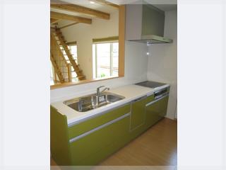 広々としたオープンキッチン!