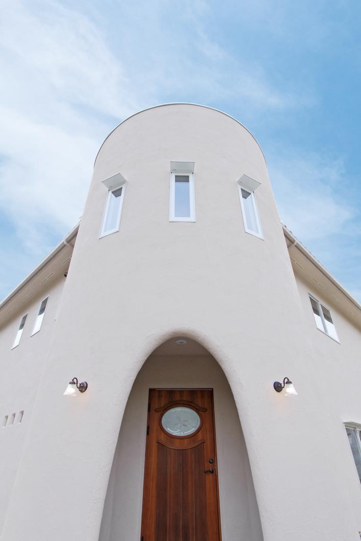 株式会社カーサ・カレラ 『中世のお城のようなシルエットを持つ家』