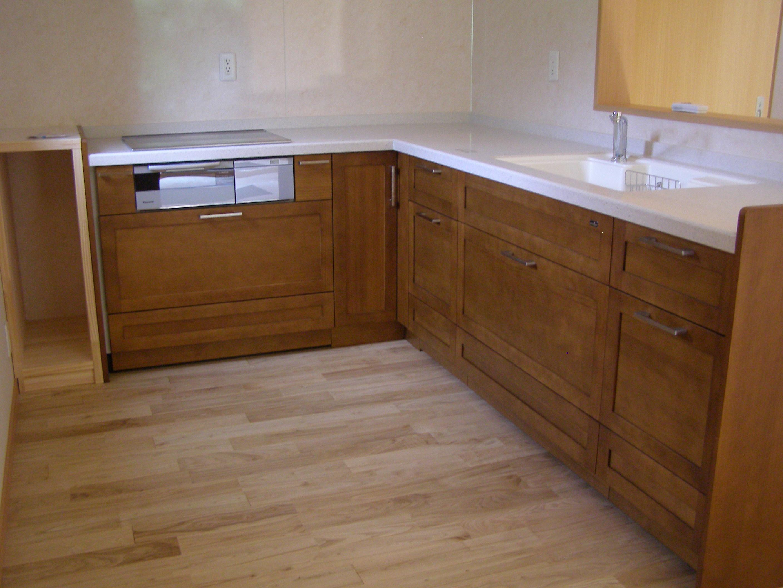 キッチンは奥様のこだわり空間。
