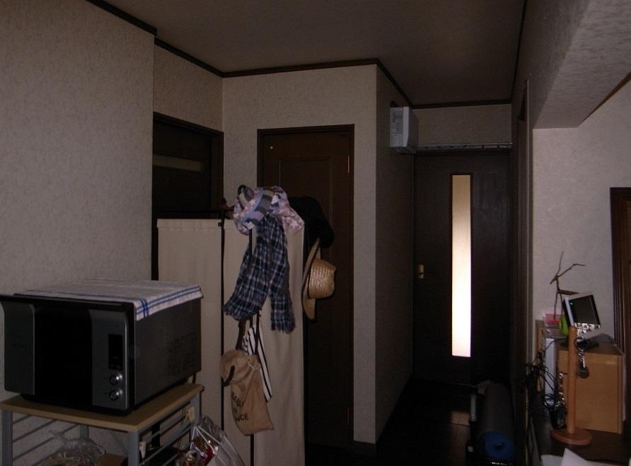 廊下:リフォーム前