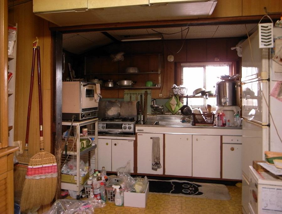 キッチン:リフォーム前