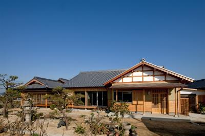 株式会社なんば建築工房『格子小屋組みの日本家屋』