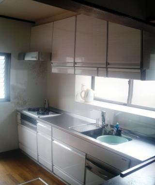 施工後:キッチン