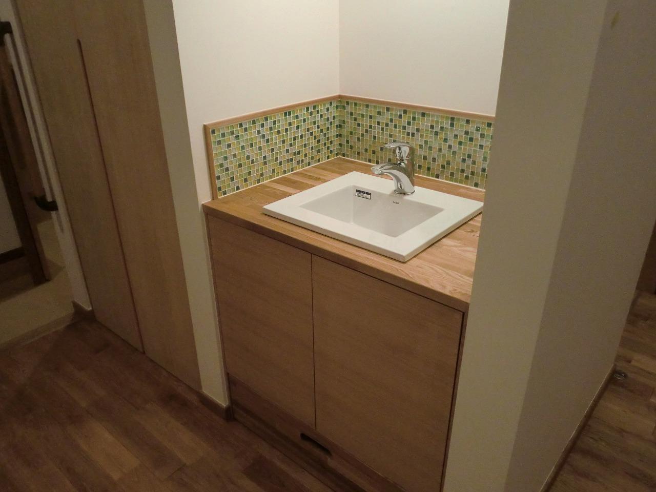 お客様用の手洗い器