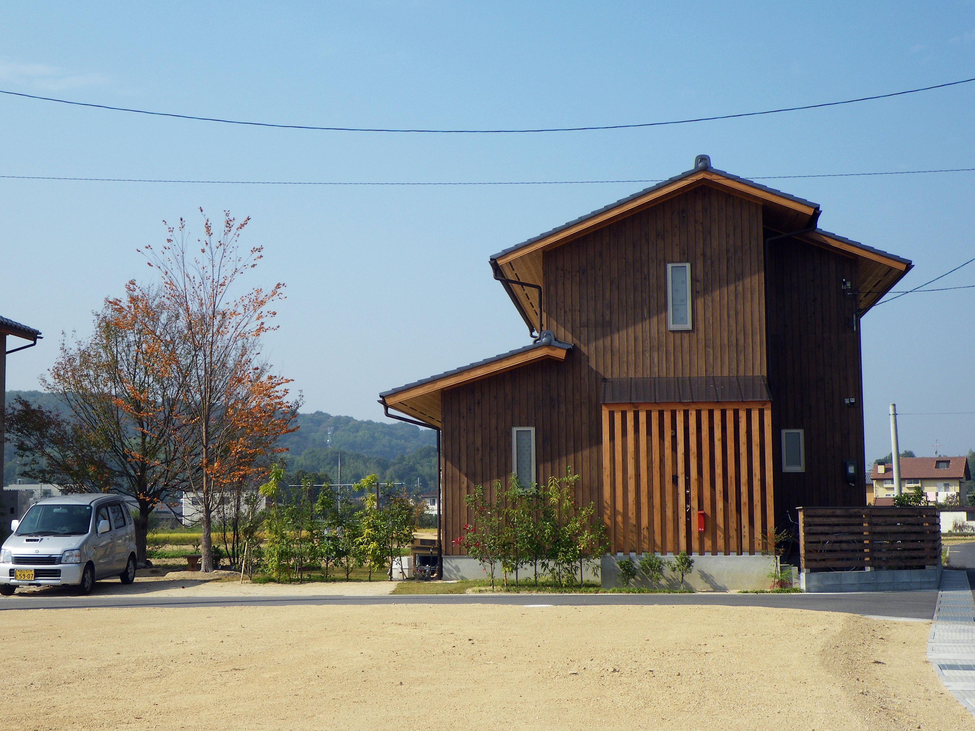 株式会社中祥建設『緑感じる小さな木の家』