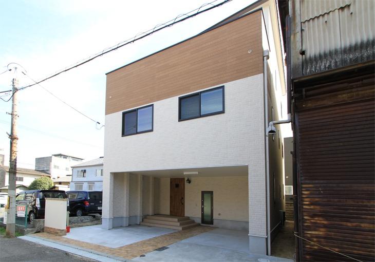 サンキョウハウシング 株式会社  「30坪の敷地をフルに活用した、2階リビングの3階建て住宅」