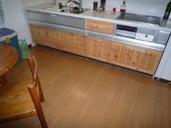 施工前:キッチン。