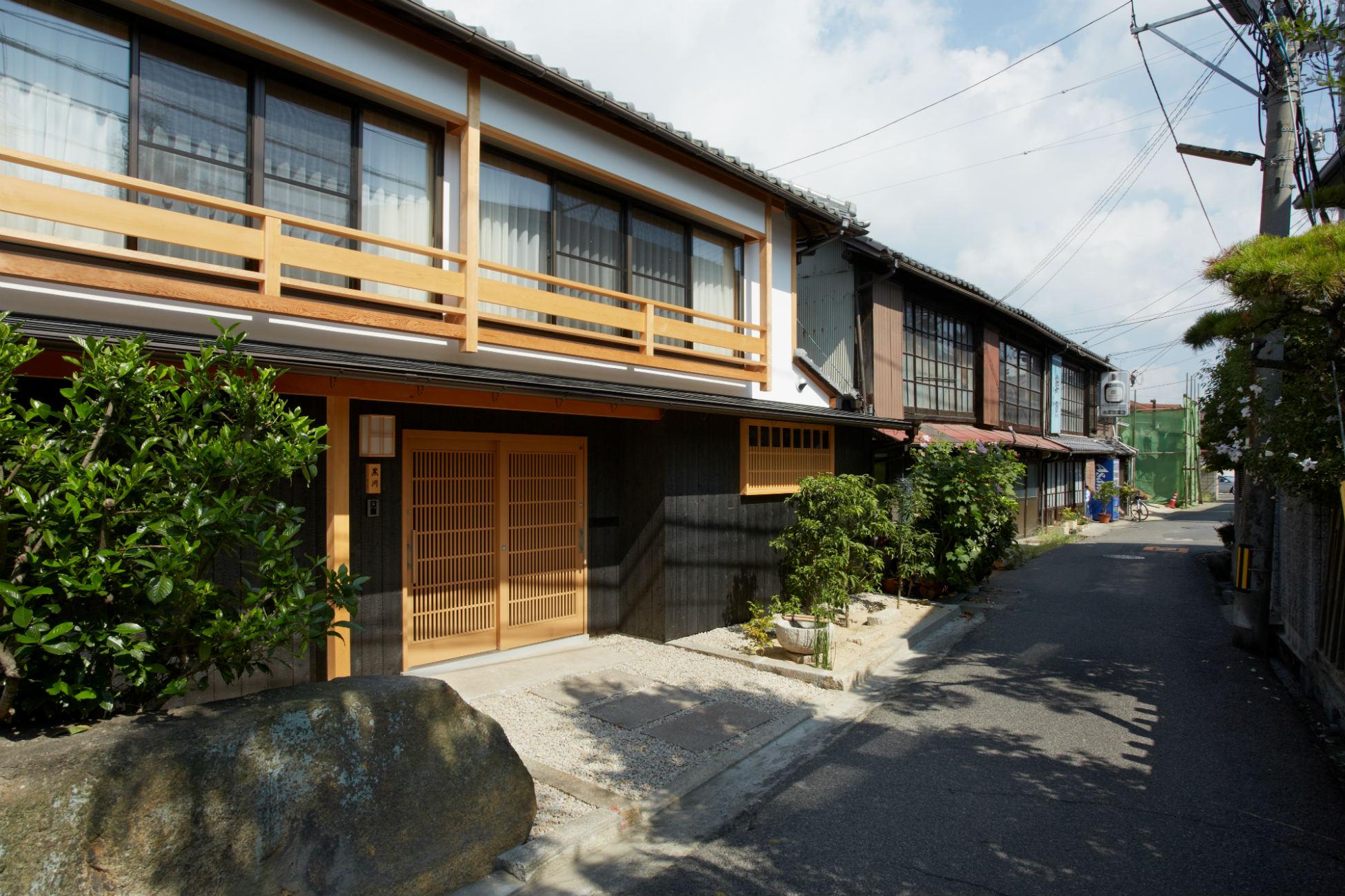 株式会社なんば建築工房『どの部屋からも庭が見渡せる空間』