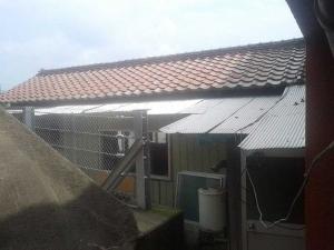 【BEFORE】古く傷んだ屋根瓦