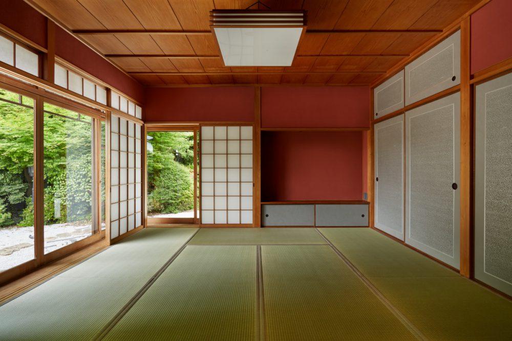 3部屋の和室は、それぞれ異なる唐紙で様々な趣向を楽しみます