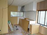 工事中でも出来る限りの整理整頓を徹底しています。