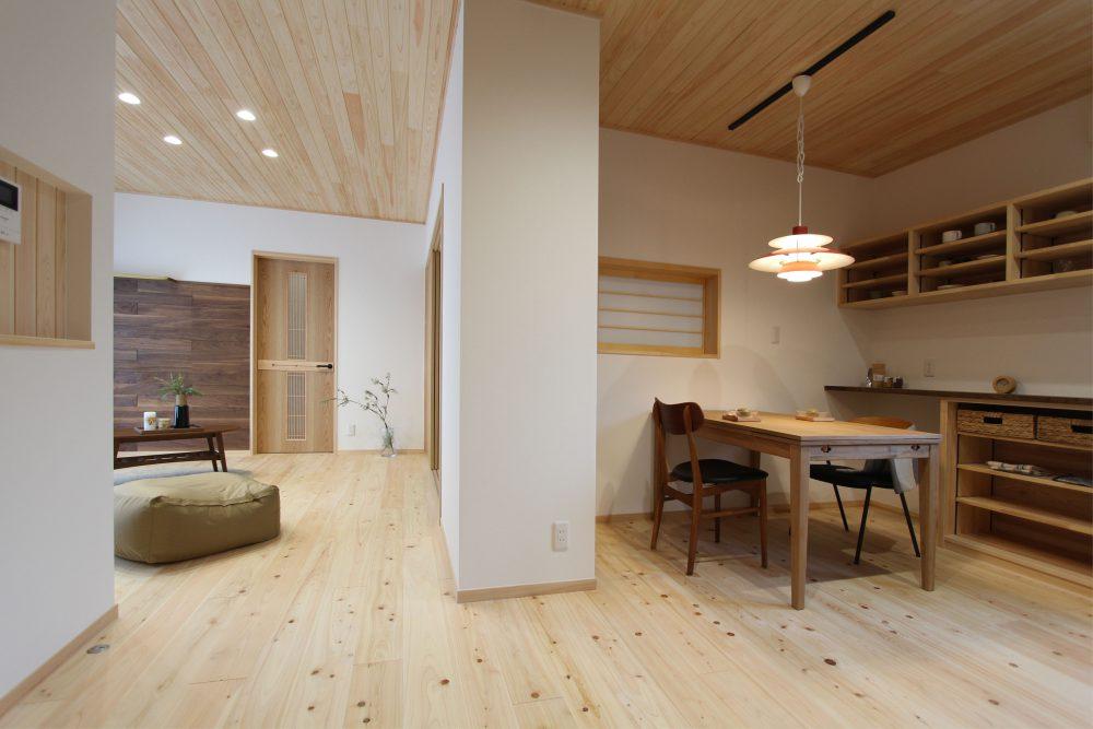 株式会社永見工務店『LDK・和室のつながりが新しい和モダン住宅』
